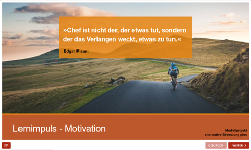 Bild aus Lernimpuls Motivation